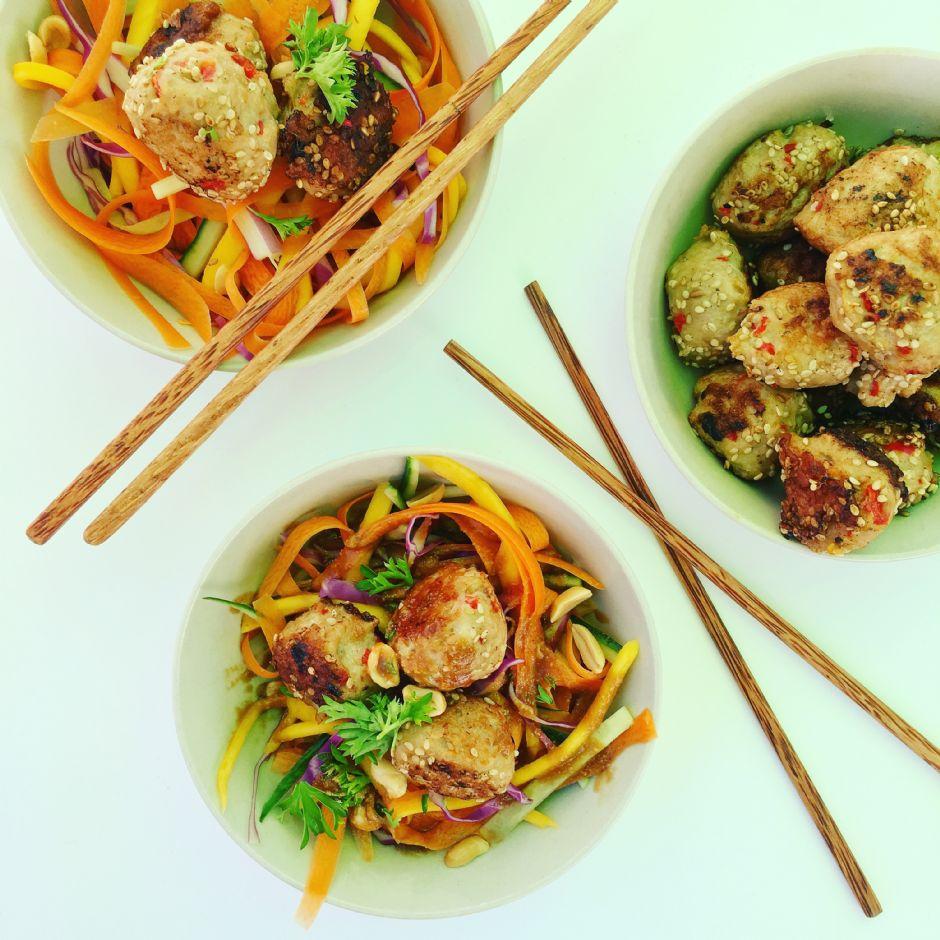 Asiatisk inspireret kødboller