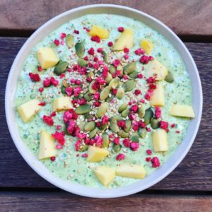 Grønkåls smoothie