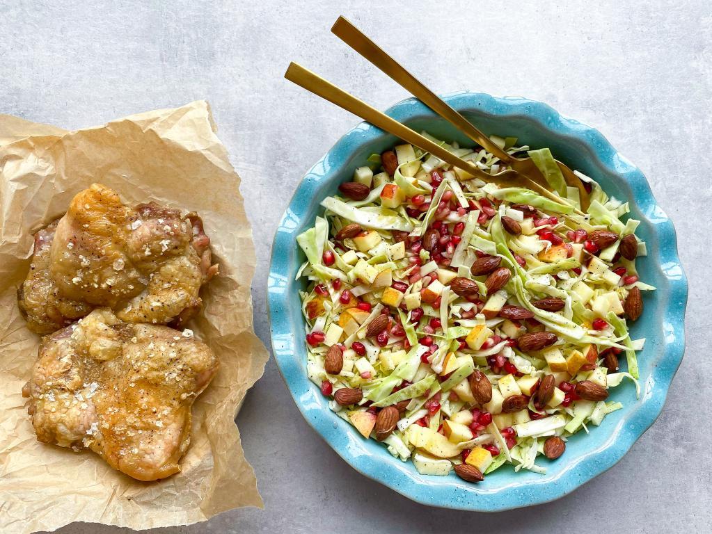 Spidskålsalat med få ingredienser