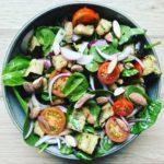Aubergine salat