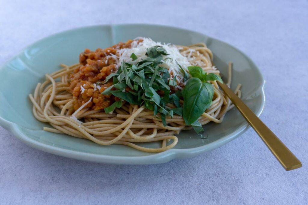 Vegetar bolognese