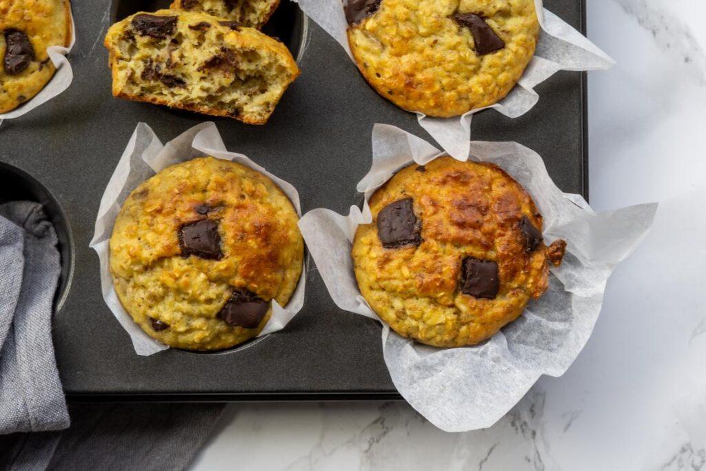 Havregryns muffins