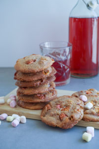 cookies med marshmallows