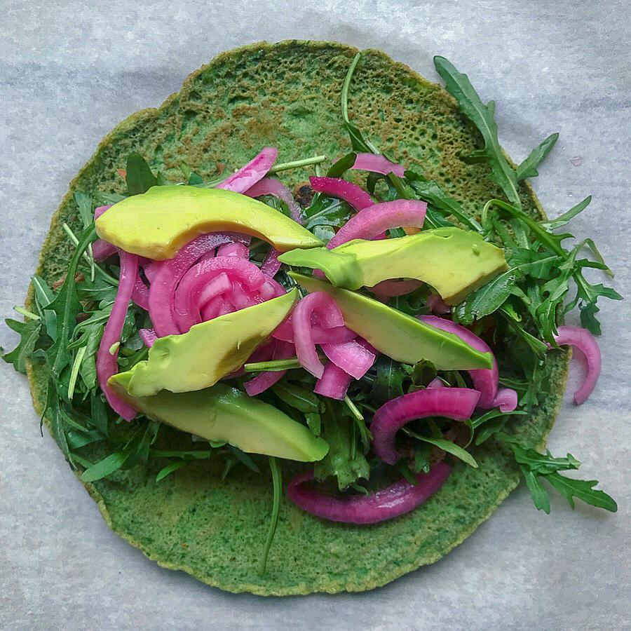opskrifter med spinatpandekager