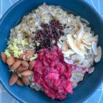 Grød med chiafrø og ingefær