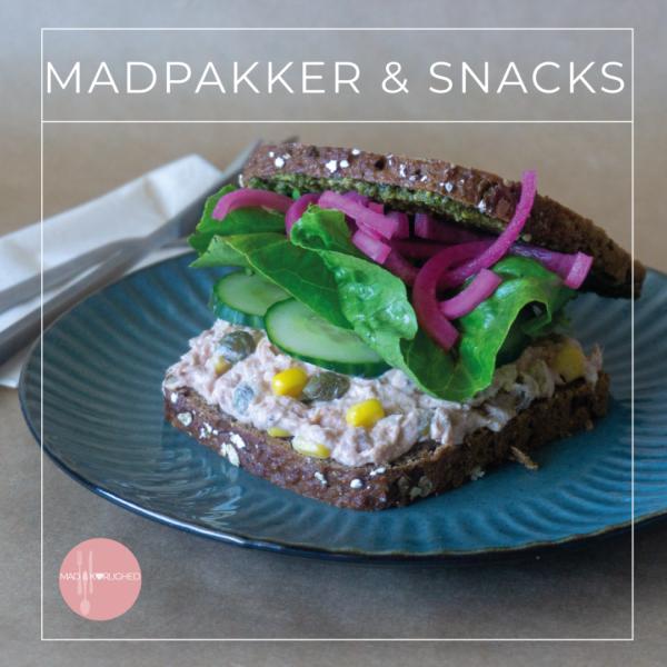 E-bog, Madpakker & snacks