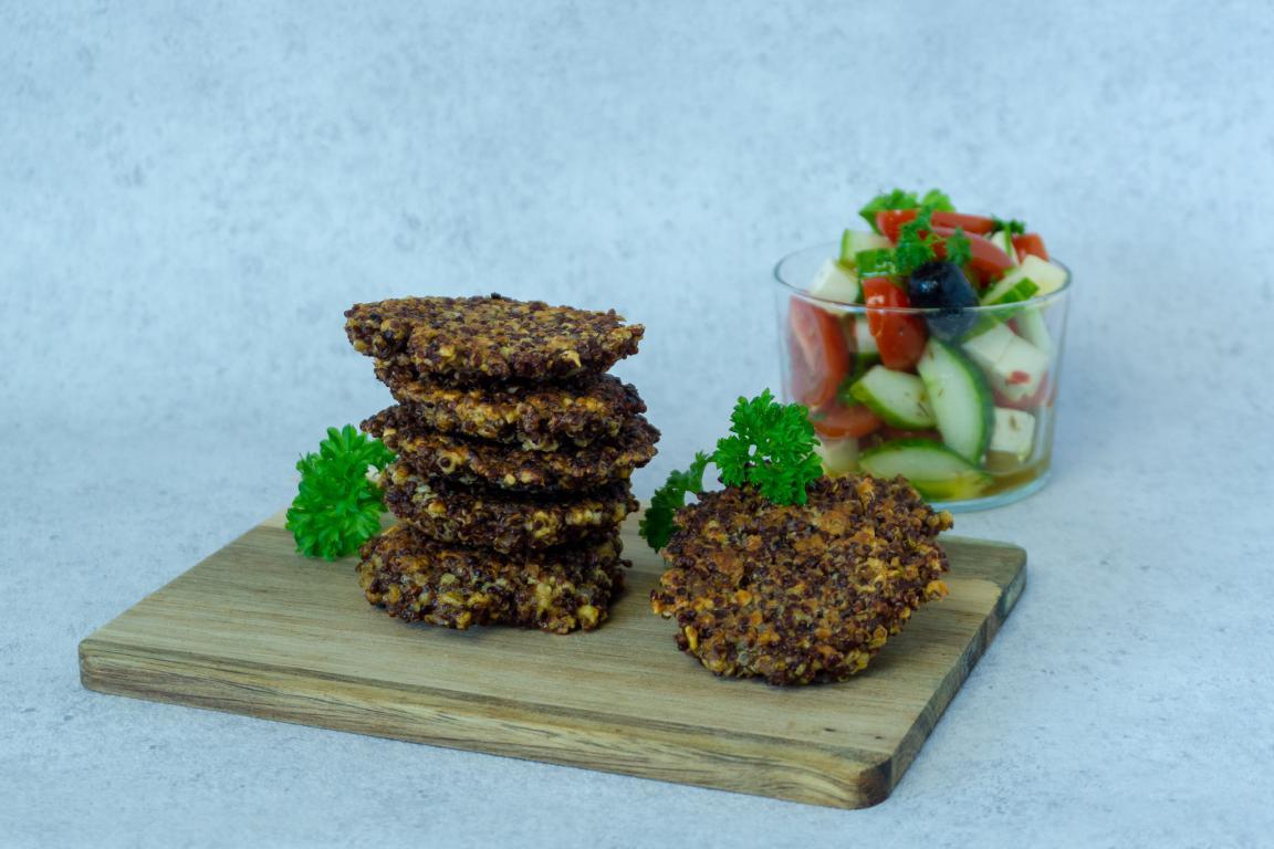 Quinoa bøffer