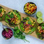 Spinat tacos