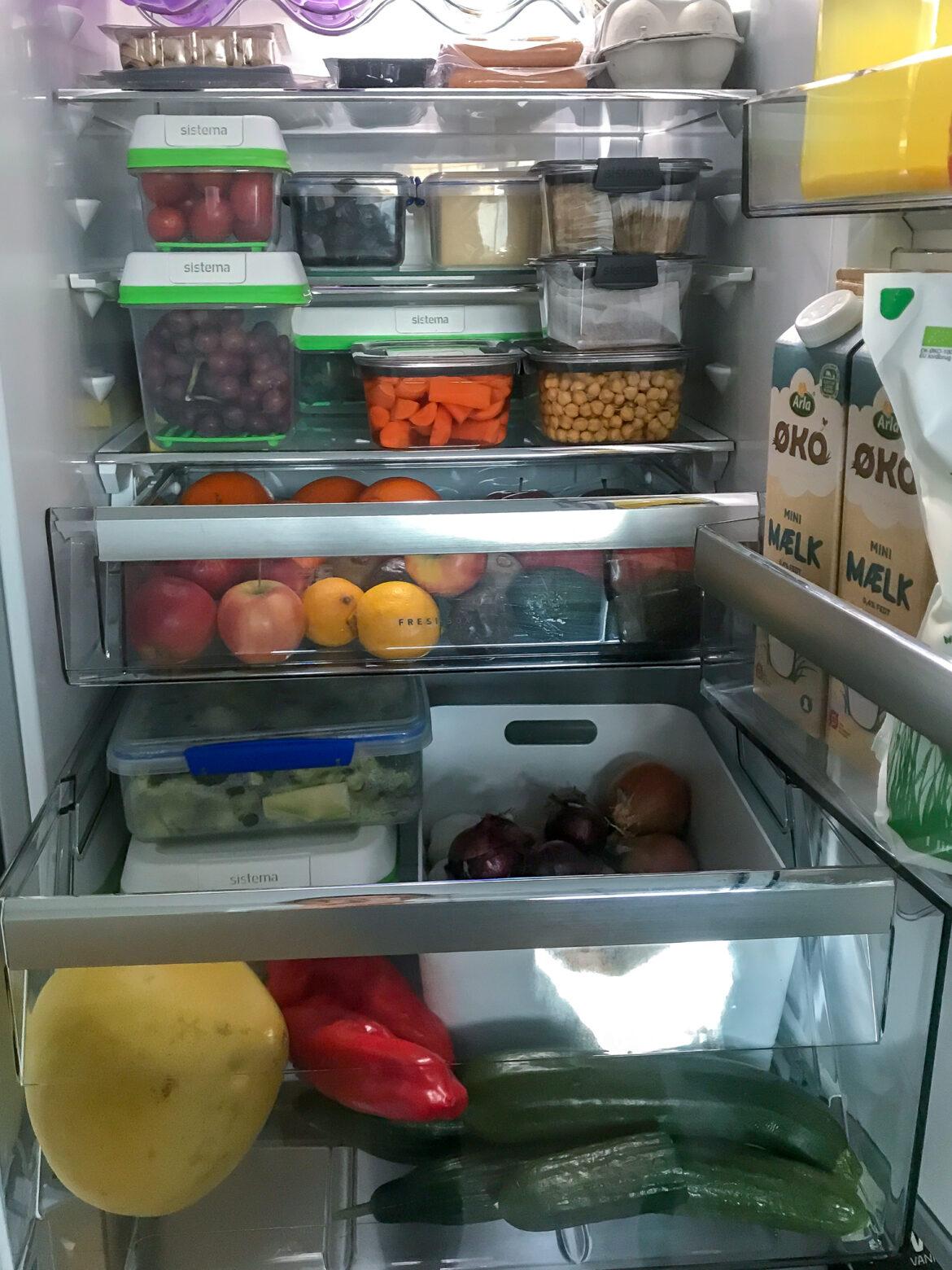 Mit køleskab