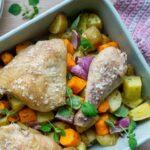 Ovnbagt kylling