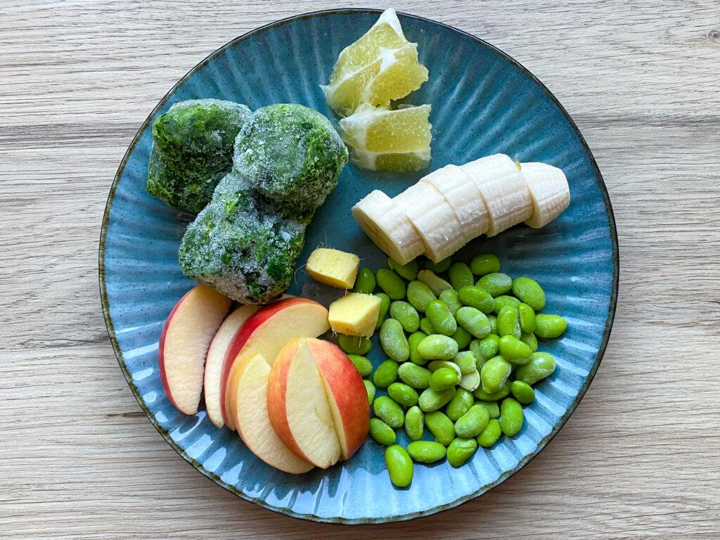 Grøn smoothie med ingefær
