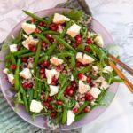Perlespeltsalat med grønne bønner
