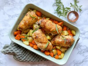 Kylling med rosmarin og flødeost