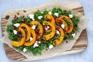 Hokkaido salat med feta