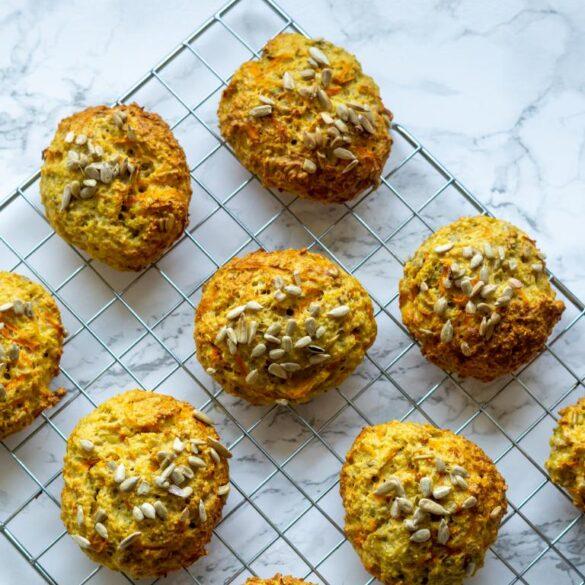 Protein gulerodsboller