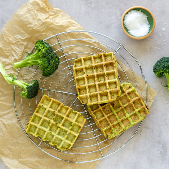Nemme broccoli vafler