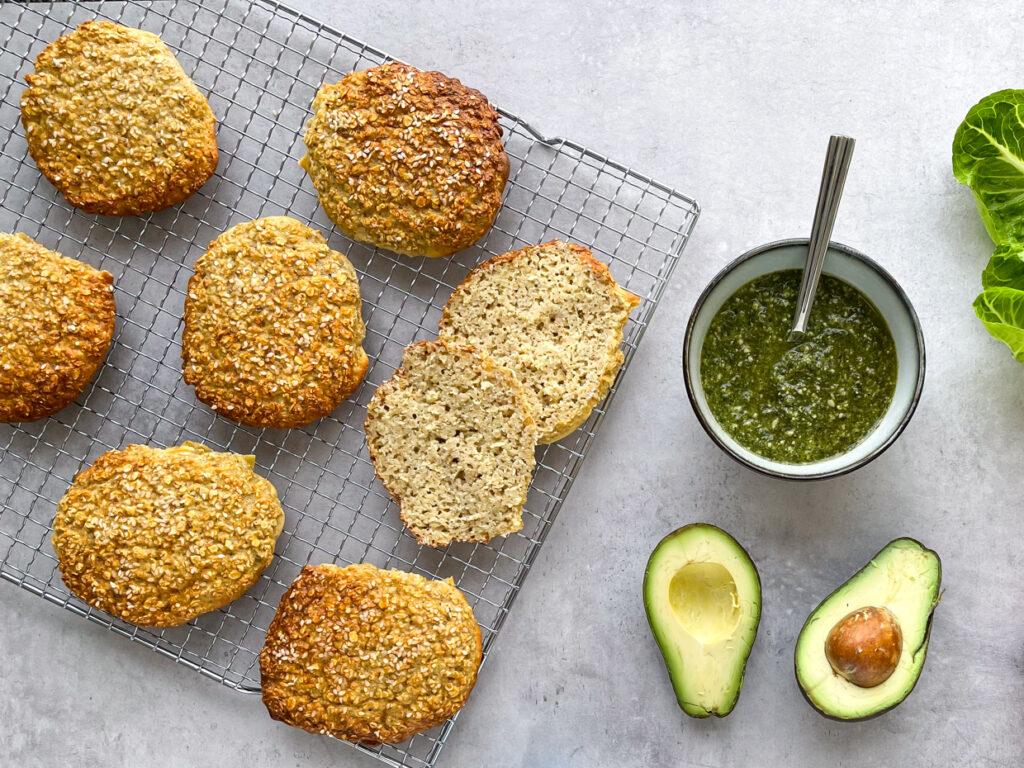 proteinsandwich med avokado
