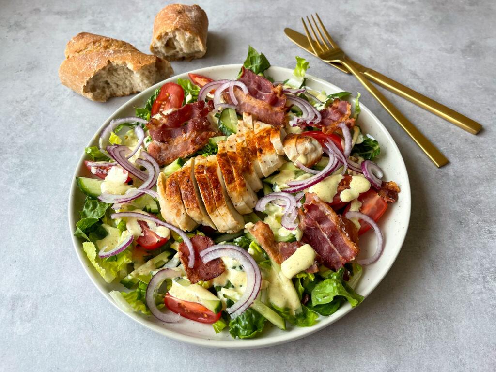 Clubsandwich salat
